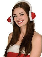 Santa Hat Ear Muffs-Keep your Ears Warm this Holiday with Santa's hat ear muffs