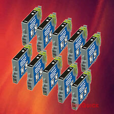 10 T044120 T0441 BLACK INK FOR EPSON C84WN C66 CX6600