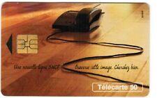 TELECARTE 50   UNE NOUVELLE LIGNE SNCF