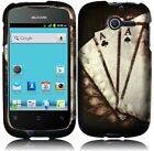 For Huawei Ascend Y H866C Rubberized HARD Case Snap On Phone Cover Vintage Ace