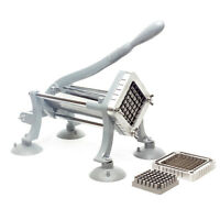 """Commercial Heavy Duty French Fry Cutter 3/8"""" and 1/2"""" inch Cutting Frame fries"""