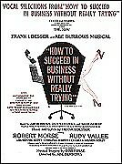 HOW TO SUCCEED IN BUSINESS...BROADWAY SHEET MUSIC BOOK