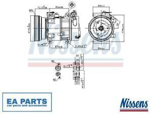 Compressor, air conditioning for DACIA RENAULT NISSENS 89148
