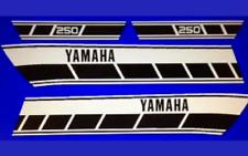 YAMAHA RD250C RESTORATION DECAL SET