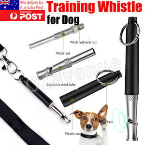 Dog Whistle Training UltraSonic Silent SuperSonic Adjustable Pitch Puppy Pet