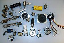 Vintage Lot Switches Capacitors Jacks Receptacle Speaker Electronic Parts +
