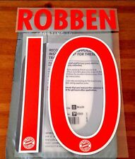 2016-17 Bayern Munich Away Shirt ROBBENI#10 OFFICIAL SportingID Name Number Set