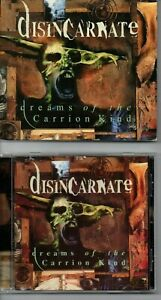 """DISINCARNATE - """"DREAMS OF THE CARRION KIND""""  ('04 ROADRUNNER EXPANDED EDITION)"""