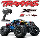 TRAXXAS X-MAXX 8S BRUSHLESS 4WD MONSTER TRUCK 50+MPH ROCK-N-ROLL BODY FREE SHIP