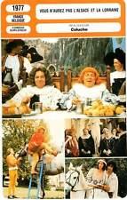 FICHE CINEMA : VOUS N'AUREZ PAS L'ALSACE ET LA LORRAINE - Coluche,Lanvin 1977
