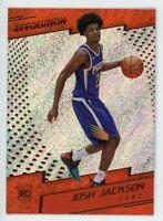 2017-18 Panini Revolution JOSH JACKSON Rookie Card RC #131 Detroit Pistons