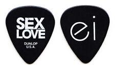 Enrique Iglesias Signature Black Guitar Pick - 2014 Sex & Love World Tour