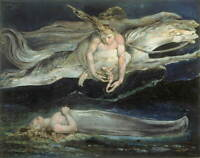 William Blake Pity Giclee Art Paper Print Paintings Poster Reproduction