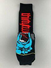 Thirtytwo x Santa Cruz Screaming Hand Snowboard Socks Socks Black L XL