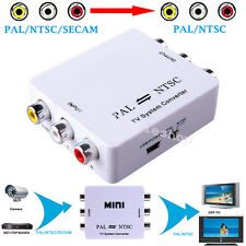 【US Fast 】PAL/NTSC/SECAM to PAL/NTSC Bi-directional TV System Switcher Converter