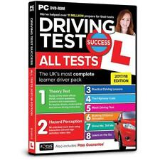 2018 Driving Theory Test Success All Tests And Hazard Perception PC DVD Rom NEW