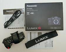 Panasonic Lumix DC-GH5 20.3 MP Digital Mirrorless Camera - Black (Body Only)
