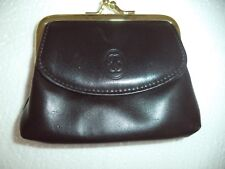 Buxton Coin & Card Genuine Leather Change Purse, Brown
