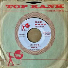 TEEN SOUND - DENNIS BELL - A HOUSE OF OUR OWN b/w JEANNINE - TOP RANK 45 - WLP