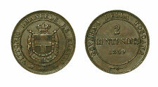 pcc1631_2) Savoia - Vittorio Emanuele II re Eletto (1859-1861) 2 Centesimi 1859