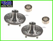 2 Acura Integra 94-01 Front Wheel Hub & Wheel Bearing with ABS Kit Pair