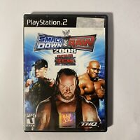 WWE SmackDown vs. Raw 2008 Featuring ECW (Sony PlayStation 3, 2007)