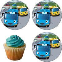 Tayo Bus Geburtstag Eßbar Tortenaufleger Muffinaufleger Deko Party Tortenbild