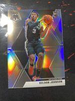 2019-20 Panini Mosaic Keldon Johnson Silver Holo Prizm Rookie #238 Spurs NBA RC