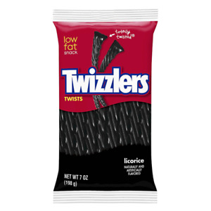 TWIZZLERS LICORICE TWISTS 198G PACK OF 1 US IMPORT