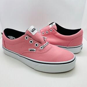 NEW Vans Doheny Pink Checker Lace Womens Athletic Shoes NIB Ships Same day!