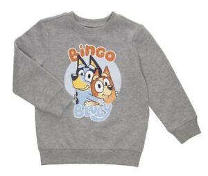 Bluey Bingo Sweatshirt Boys Girls Unisex  Jumper Size 5   BRAND NEW WITH TAGS
