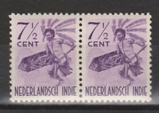 Nederlands Indie Indonesie 303 pair MNH Netherlands Indies inheemse dansers 1941