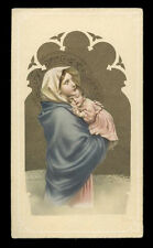 "santino-holy card""""ediz. NB serie 1  n.742 MADONNA DEL RIPOSO"