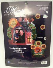 J. & P. Coats Plastic Canvas Frames Needlework Kit 28013 Count Your Blessings