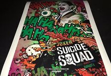 Jared Leto As The Joker In Suicide Squad Hand Signed 11x14 Photo Actor Proof JL