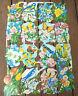 Vtg Die Cut Scrap Sheet (Flowers Butterflies Glanzbilder MLP 1589 & 1590 England