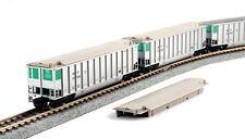 ESCALA N KATO Set de vagón de Carbón sbtx 8 Pieza 106-4652 NEU