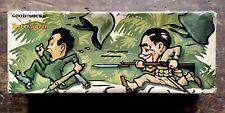 Rare Vintage WWII Advertising Box 1943 Interwoven Socks Bayonet Graphic Japanese