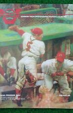 1984 Vermont Reds program - Eastern League AA- Affiliate of the Cincinnati Reds