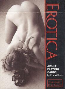 EROTICA PLAYING CARDS DECK, RUMMY - ORIGINAL PIATNIK - 55 cards