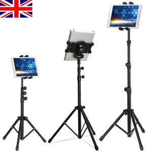 Adjustable Universal Tripod Tablet Stand Holder Music Foldable Bracket for iPad