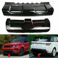 Front + Rear Lower Skid Plate Bumper Board Trim For Range Rover Sport 2014-17 MA