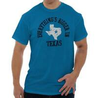 Everything Is Bigger In Texas Sayings Lone Star State Pride Long Sleeve Thermal