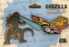 Comic CON 2019 Kaiju Godzilla Mothra Limited Edition 1000 PCS Pin Godzilla 65th