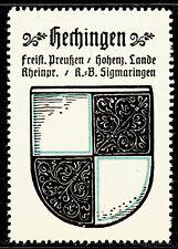 85) Kaffee Hag 1925 Hechingen Sigmaringen Rheinprovinz Reklamemarke Städtewappen