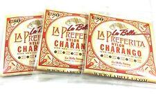 Charango Cuerdas String 3 Sets Tres Juegos - La Bella 5 double String Set Nylon