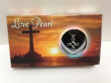 Cross Love Pearl Kit w/ Pendant Necklace Gift Box - Damaged Box (see pictures)