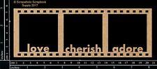 Scrapaholics Chipboard - Cherish Filmstrip