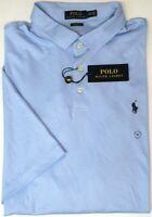 NEW $89 Polo Ralph Lauren Light Blue Mens Short Sleeve Classic Fit Shirt NWT