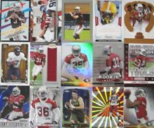 Larry Fitzgerald/David Johnson/Mathieu CARDINALS ROOKIE AUTO RC JERSEY RELIC LOT